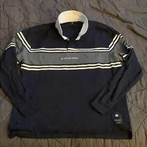 G Star men's size large rugby shirt